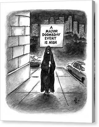 New Yorker October 20th, 1997 Canvas Print by Frank Cotham