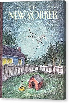 New Yorker October 21st, 1991 Canvas Print