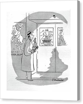 New Yorker October 24th, 1942 Canvas Print