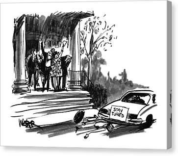 New Yorker October 24th, 1994 Canvas Print by Robert Weber