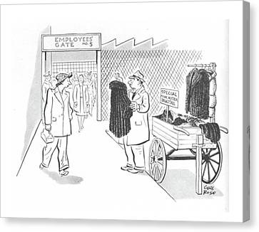 New Yorker October 30th, 1943 Canvas Print