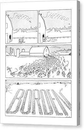New Yorker October 5th, 1940 Canvas Print