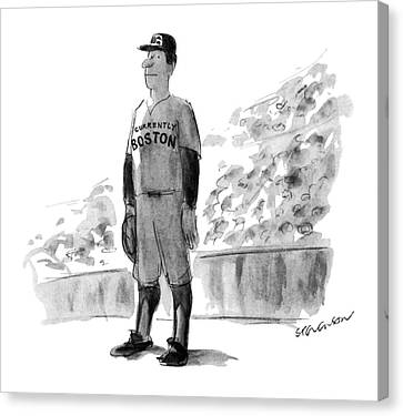 New Yorker October 5th, 1981 Canvas Print