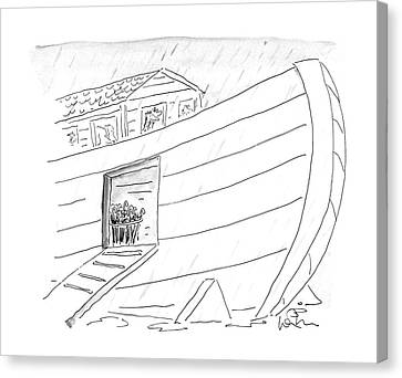 New Yorker October 5th, 1987 Canvas Print