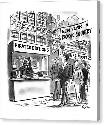 New Yorker October 6th, 1997 Canvas Print