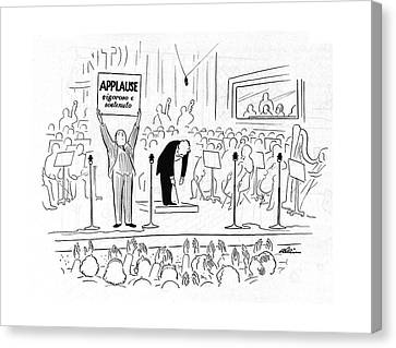 New Yorker October 7th, 1944 Canvas Print