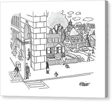 New Yorker September 12th, 1988 Canvas Print