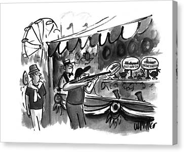 New Yorker September 12th, 1994 Canvas Print