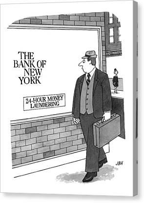 Recent Canvas Print - New Yorker September 13th, 1999 by J.B. Handelsman