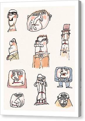 New Yorker September 13th, 1999 Canvas Print