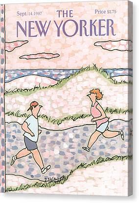 New Yorker September 14th, 1987 Canvas Print