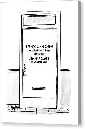 New Yorker September 14th, 1987 Canvas Print by Warren Miller