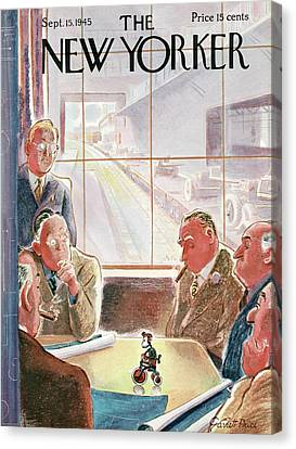 New Yorker September 15th, 1945 Canvas Print by Garrett Price