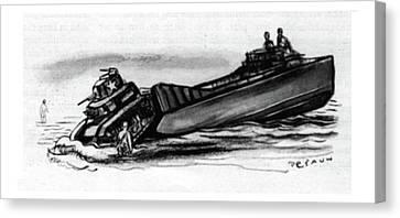 New Yorker September 16th, 1944 Canvas Print