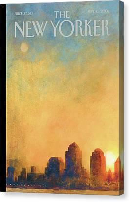 New Yorker September 16th, 2002 Canvas Print