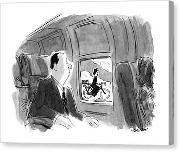 New Yorker September 17th, 1990 Canvas Print by James Stevenson