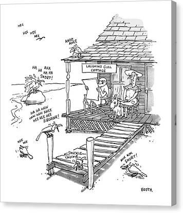 New Yorker September 18th, 1978 Canvas Print