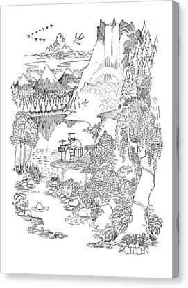 New Yorker September 19th, 1970 Canvas Print
