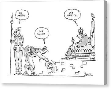 New Yorker September 19th, 1988 Canvas Print