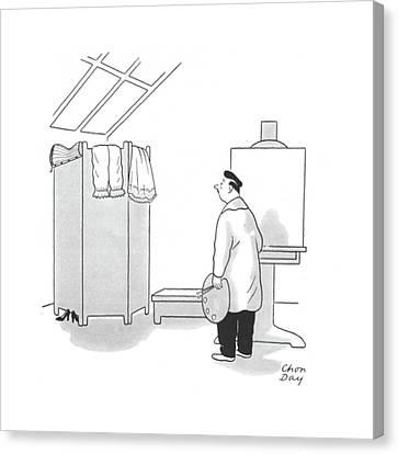 New Yorker September 20th, 1941 Canvas Print