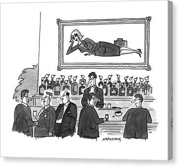 New Yorker September 20th, 1993 Canvas Print by Mick Stevens