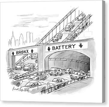 New Yorker September 20th, 1999 Canvas Print