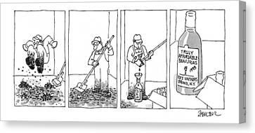 New Yorker September 21st, 1998 Canvas Print by Jack Ziegler