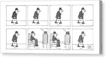 New Yorker September 22nd, 1986 Canvas Print by Joseph Farris