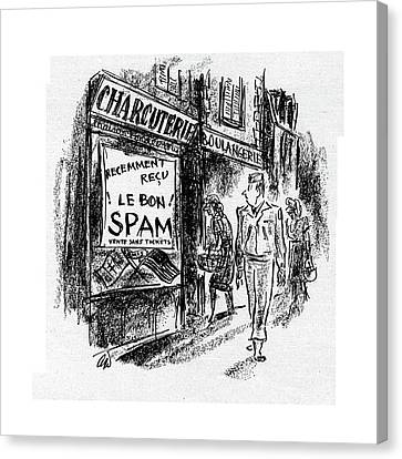 New Yorker September 23rd, 1944 Canvas Print by Alan Dunn