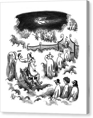 New Yorker September 26th, 1994 Canvas Print
