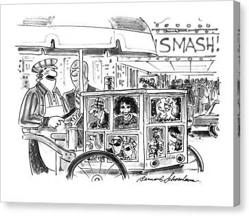 New Yorker September 27th, 1993 Canvas Print by Bernard Schoenbaum