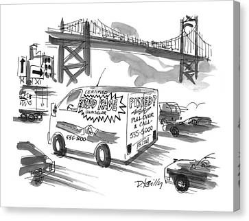 New Yorker September 27th, 1999 Canvas Print by Donald Reilly