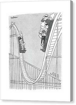 New Yorker September 2nd, 1944 Canvas Print