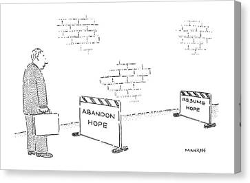 New Yorker September 3rd, 1990 Canvas Print