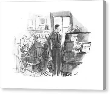 New Yorker September 6th, 1941 Canvas Print by Perry Barlow