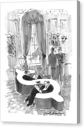 New Yorker September 6th, 1999 Canvas Print