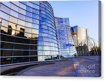 New Zealand Christchurch Art Gallery Canvas Print by Colin and Linda McKie