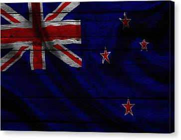 New Zealand Canvas Print by Joe Hamilton