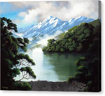 Aotearoa Canvas Print - New Zealand Lewis Pass By Linelle Stacey by Linelle Stacey