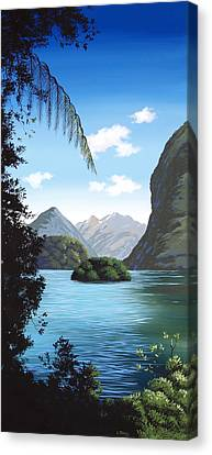 Aotearoa Canvas Print - New Zealand Milford  By Linelle Stacey by Linelle Stacey