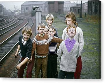 Newcastle Lads Uk 1975 Canvas Print