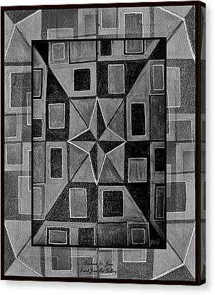 Newton Framed Canvas Print by Barbara St Jean