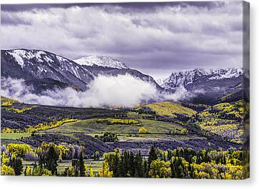 Newyorkmountaincolorado Canvas Print by Darryl Gallegos