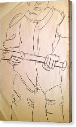 Next Batter Canvas Print by Joe Davis