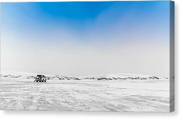 Next Carshop 250 Miles Canvas Print by Charlie Tash