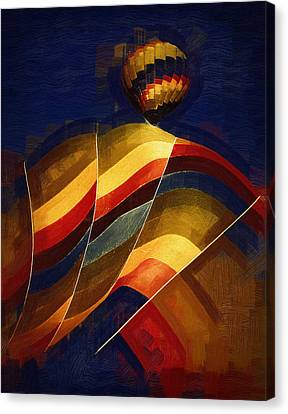 Next To Go Canvas Print by Kirt Tisdale