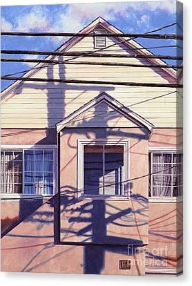 Nexus Canvas Print by Lynette Cook