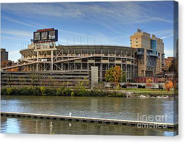 Neyland Stadium Canvas Print