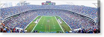 Nfl Football, Ericsson Stadium Canvas Print by Panoramic Images