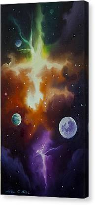 Ngc 1030 Canvas Print by James Christopher Hill